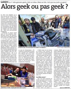 Articles de presse de 2014